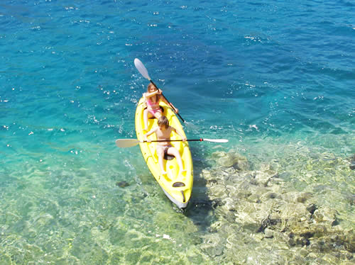 Vacation in Croatia - apartments - kayak rent in Croatia